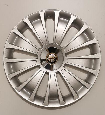 "oryginalne kołpaki do Alfa Romeo 15"" komplet 5 szt."