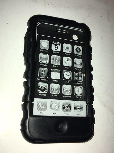 Speck Pancerne gumowe etui do telefonu Iphone 3G 3GS czarne