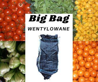 Worki Big Bag Wentylowane 200x100x100 cm, wysyłka kurierem