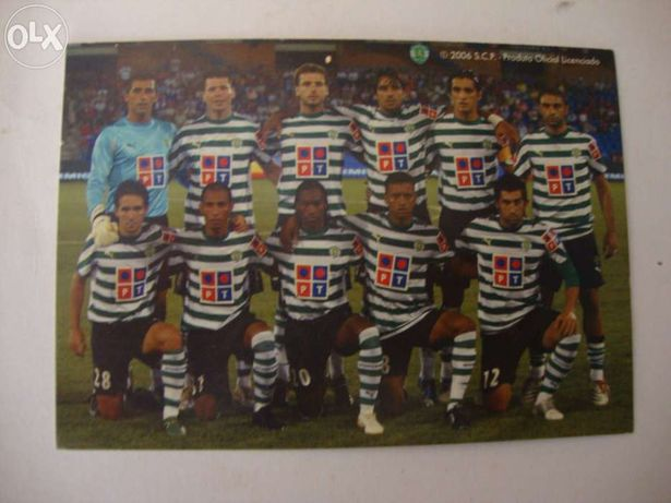 Postal do Sporting 2006
