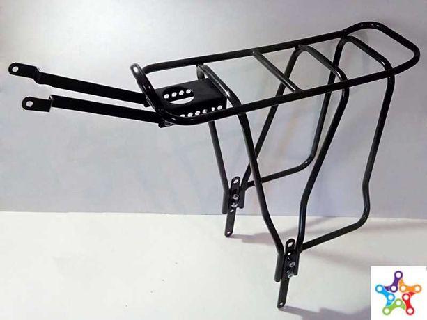 """Багажник на велосипед 24-28"""" (сталь), велобагажник под дисковый тормоз"""