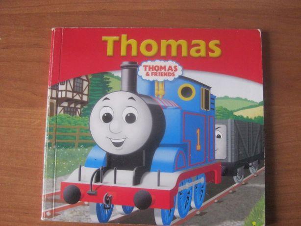 Książeczki Tomek i przyjaciele w języku angielskim.