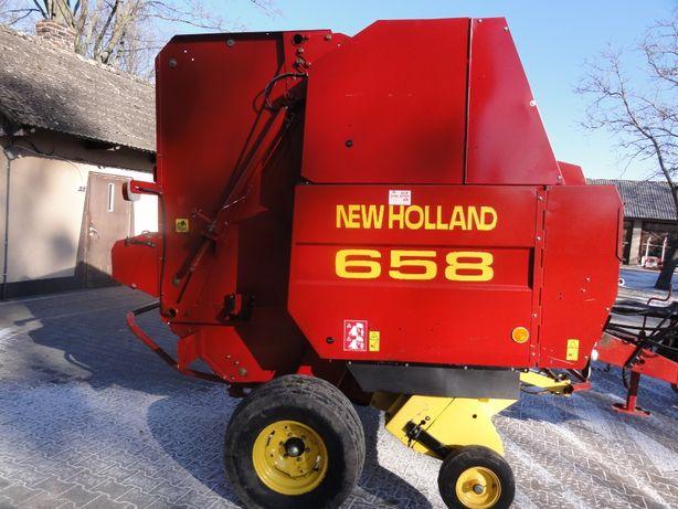 Prasa rolująca New Holland 658 siatka