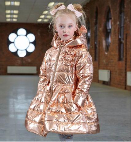 Зимняя куртка для девочки, пуховик для девочки, 110, 140, 146, 152