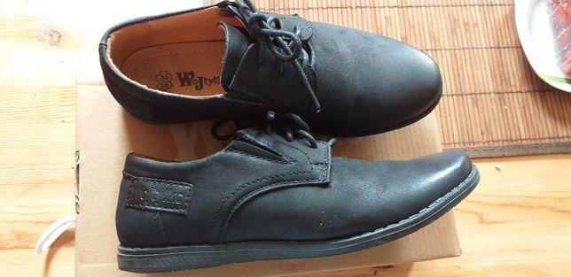 Buty dziecięce skórzane roz. 34. Komunia, garnitur, wizytowe
