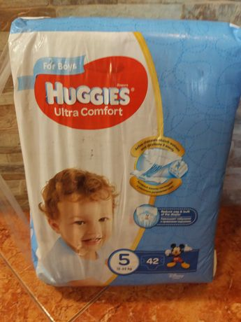 Памперсы Huggies Ultra Comfort p.5