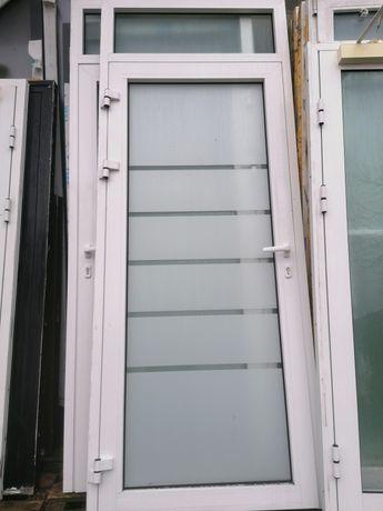 Drzwi aluminiowe 100 x 250 używane