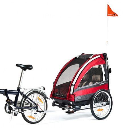 Przyczepka rowerowa/narciarska/wózek biegowy Nordic Cab Explorer 5w1