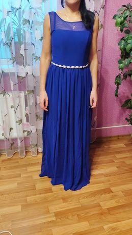 Длинное платье выпускное