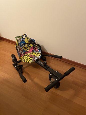 Vende-se hoverboard+cadeira com pouco uso