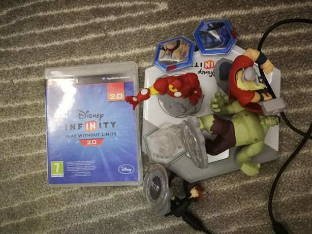 Gra PS3 Disney Infinity 2.0 +portal +figurki