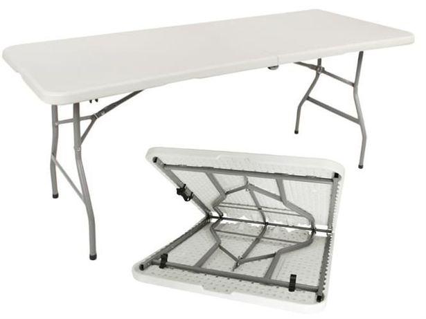 STÓŁ składany cateringowy/ bankietowy stolik składany 180x75 cm. Nowy