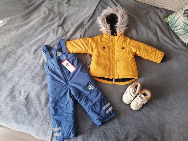 Kurtka zimowa + spodnie narciarskie Cool Club