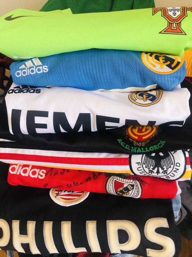 Camisolas vintage futebol