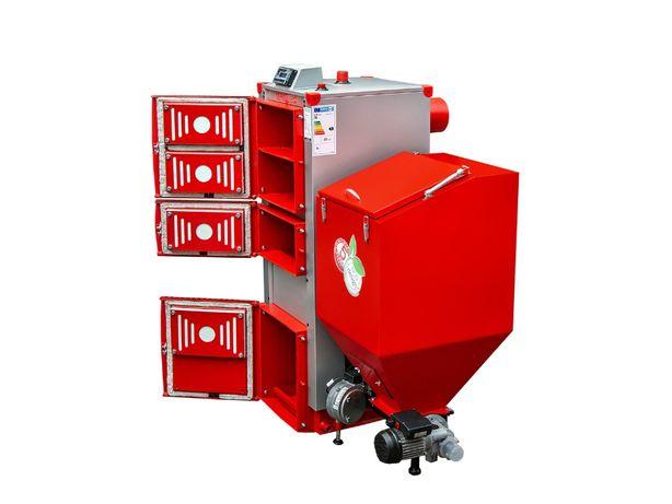 5 klasa Kocioł na ekogroszek żeliwny podajnik 100%, 35KW kotły piec
