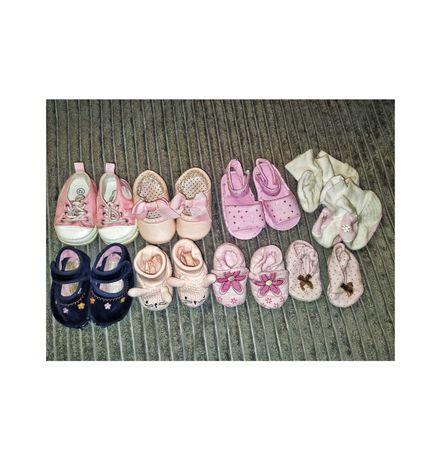 Обувь для девочки для новорожденных пинетки кроссовки босоножки