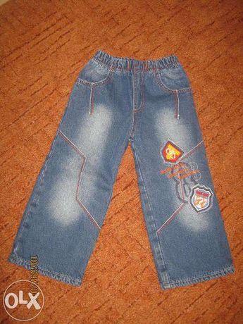 Утеплённые джинсы GJ.(Gloria Jeans) на мальчика 98 см.