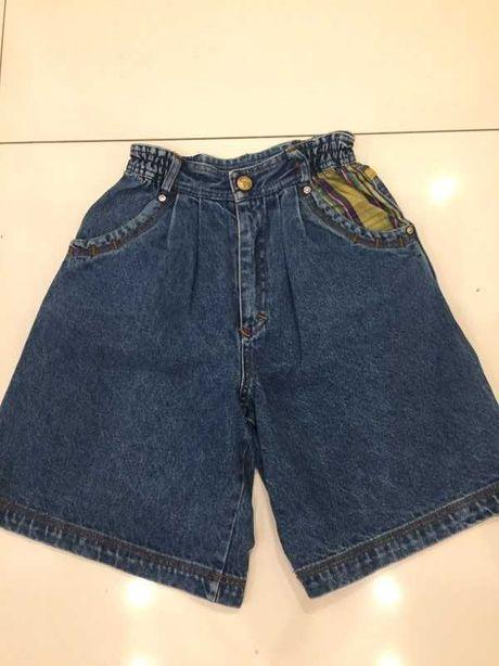 jeans spodenki dziewczęce
