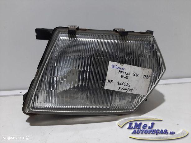 Farol normal Esq Usado NISSAN/PATROL GR V Wagon (Y61)/2.8 TD | 1998