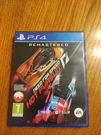 Need For Speed Hot Pursuit Remastered PL PS4