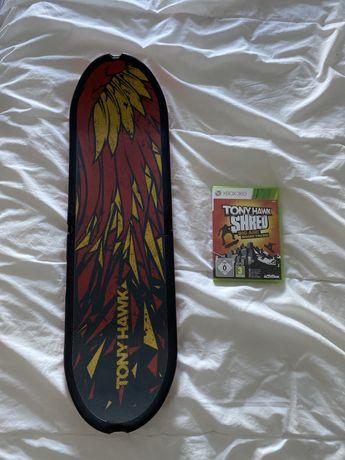 Tony Hawk Shred Xbox 360 (com prancha)