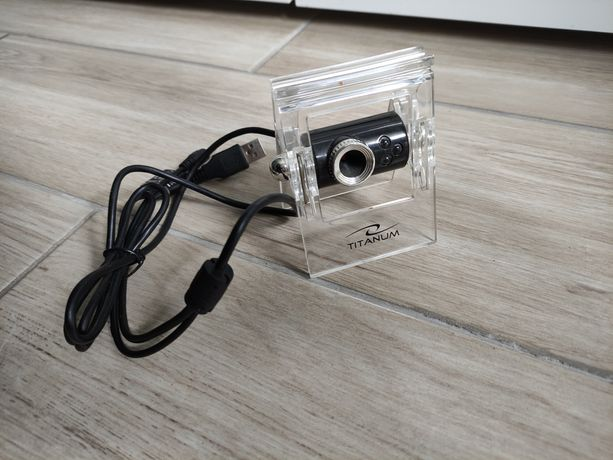Kamerka internetowa TITANUM TC101 z mikrofonem, jak nowa