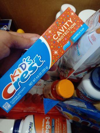 Зубная паста з айхерб crest now foods