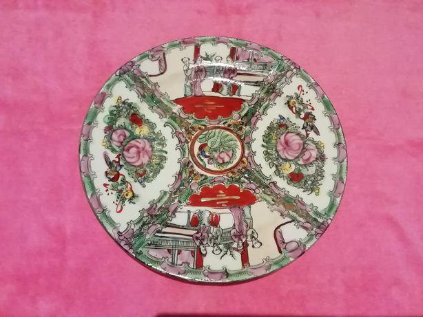 Prato de Porcelana da China