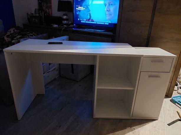 Sprzedam nowe białe biurko