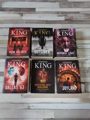 King - HISTORIA LISEY - Joyland - OUTSIDER - Dallas 63 - Ręka MISTRZA