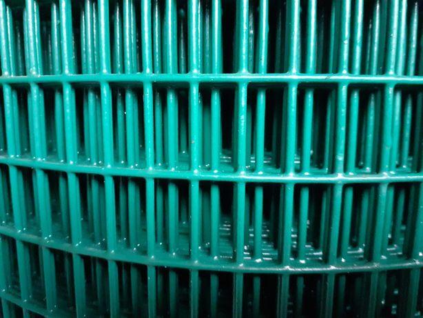 promocja siatka zgrzewana oko 11/24mm drut 1,6mm ocynk+pcv,gołębnik