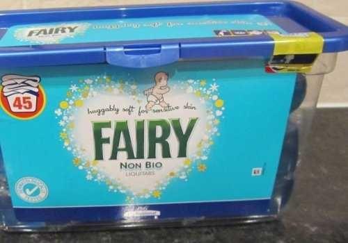 Капсулы для стирки FAIRY NON BIO( 45шт) для детского белья