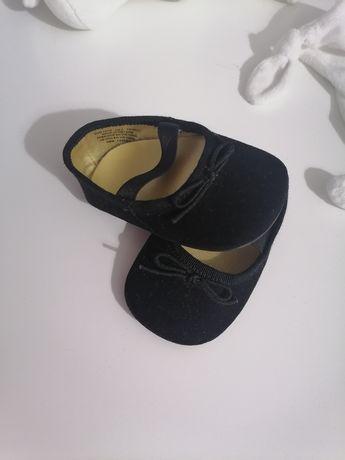 Czarne balerinki H&m