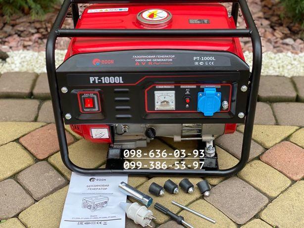 Бензиновый генератор Edon PT-1000 вт обмотка медь мини электростанция