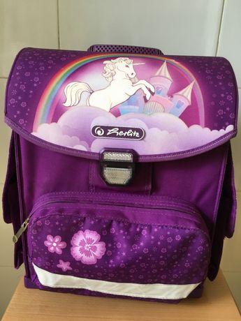 Школьный рюкзак ранец Herlitz для девочки