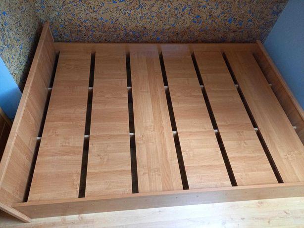 Łóżko Bruxelles zakupine 140x200 z JYSK jak nowe, bardzo solidne