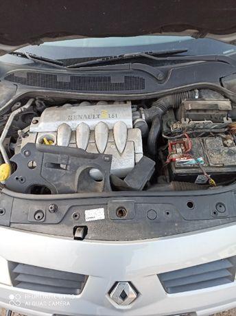 silnik 1.6 16v 85kW Renault Megane II Scenic II