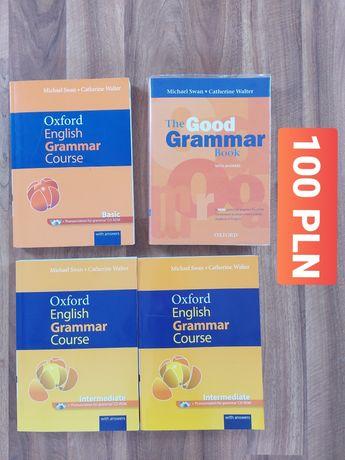 Książka do nauki angielskiego English oxford grammar course