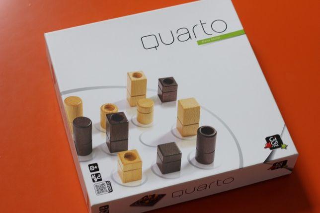 QUARTO gra logiczna Gigamic drewno 28x28cm 8L+ IDEAL