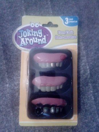Зубы для розыграшов,хеллоуина