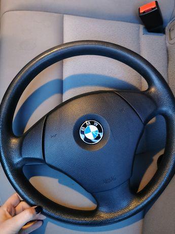 Kierownica + air bag e90/e91 /e87 + gałka od biegów
