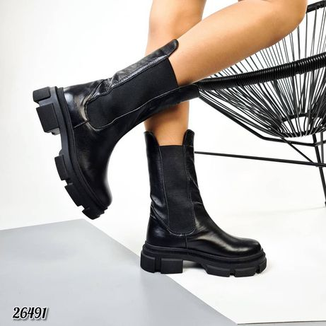Ботинки Челси Нат.Кожа