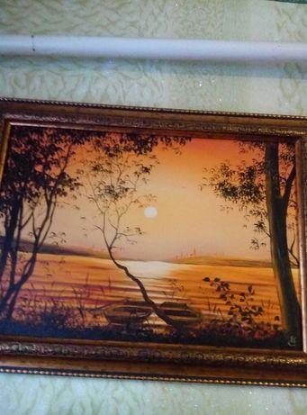 Картина маслом Сударенко