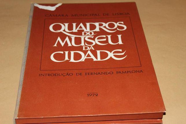 Quadros do Museu da Cidade -Introd de Fernando Pamplona