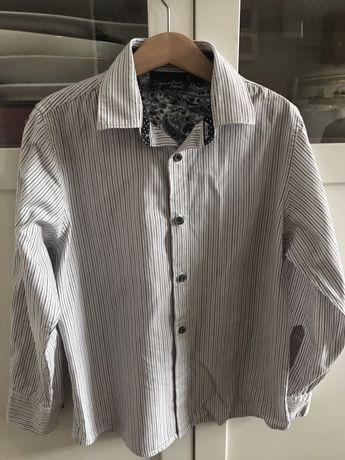 Next Signature elegancka koszula w paseczki r. 128 8lat