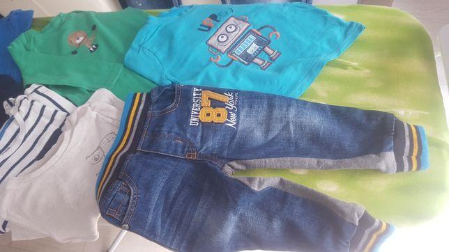 Paka ubrań dla chłopca 80