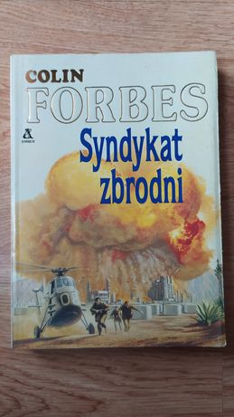 """Książka """"Syndykat zbrodni"""" Colin Forbes"""