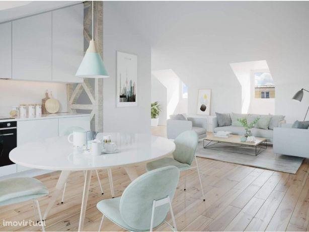 Apartamento T2 com suite para venda no Chiado, Lisboa.