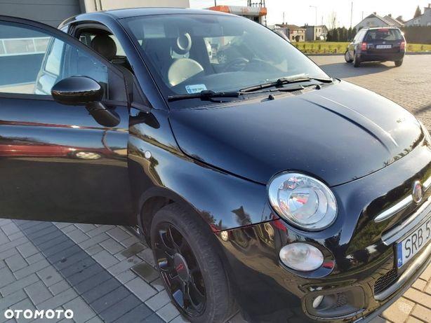 Fiat 500 1,2 Sport ( 69KM), Lounge, Blu&Me, bogate wyposażenie, mały przebieg