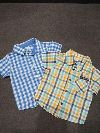 Koszula elegancka w kratkę 51015 rozmiar 80